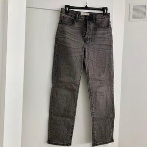 Everlane High-Rise Slim-Straight Jeans